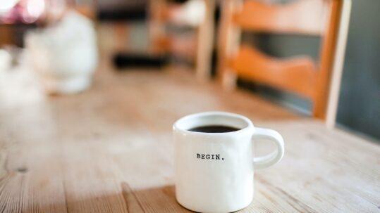 Change and coffee